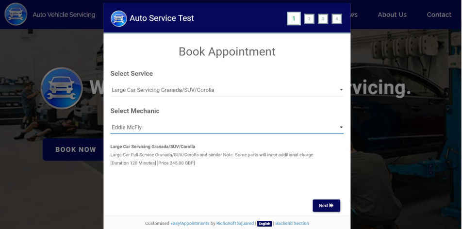 Auto Vehicle Service