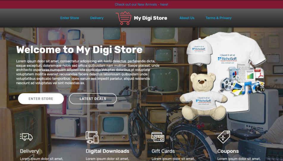 My Digi Store V4