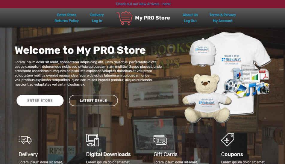 My PRO Store V4