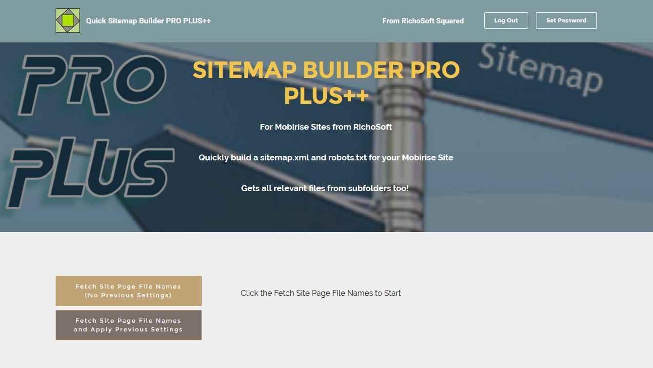 Sitemap Maker Pro Plus ++