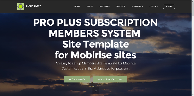 Subscription Membership System PRO PLUS