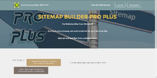 Sitemap Maker Pro Plus