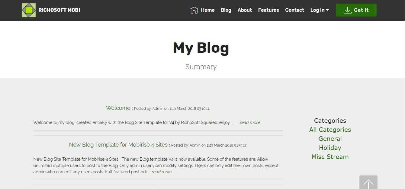 Blog Summary