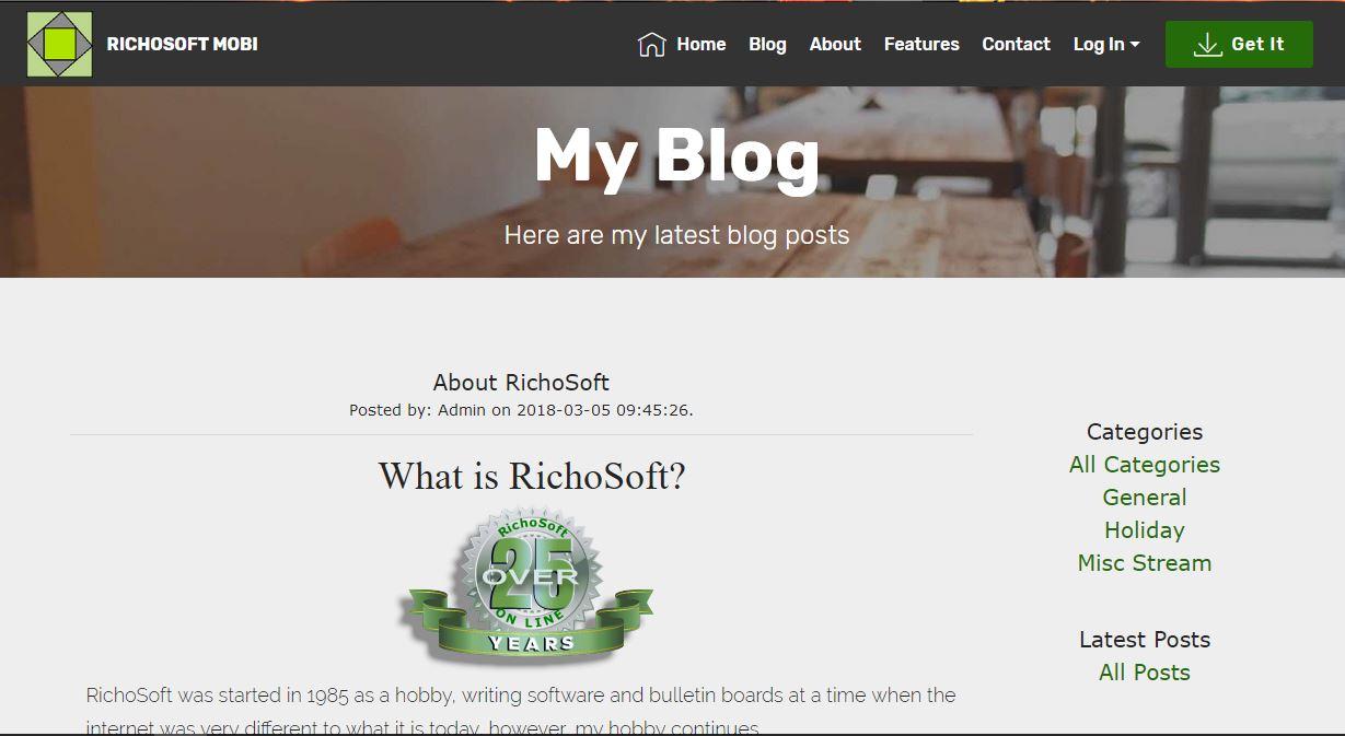 richosoft 25years online